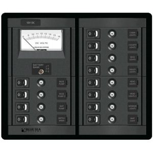 1464 - 12 Position Switch CLB + Meter Square