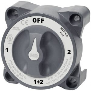 3002 - HD-Series Heavy Duty Selector Battery Switch